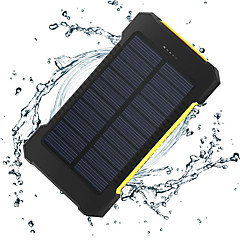 The New 8000mah Ddual-Usb Solar Powered Mobile Power Power Banks