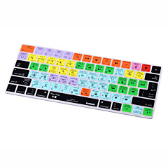 お買い得  MAC 用キーボード カバー-xskn®avidプロツールショートカットシリコンキーボードスキンマジックキーボード2015バージョン(us / euレイアウト)