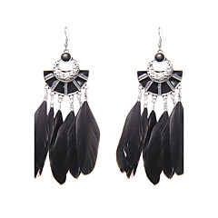 preiswerte Ohrringe-Damen Logo Tropfen-Ohrringe - Einzigartiges Design, Gothic, Modisch Schwarz / Blau / Wie im Bild Für Hochzeit / Party / Besondere Anlässe