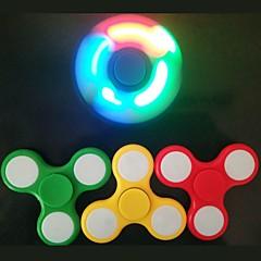 preiswerte Ausgefallene LED-Beleuchtung-führte Spinner Amerika Flagge Emoji gedruckt Zappeln Spinner Dekompression Spielzeug Finger Kreisel