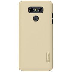 Недорогие Чехлы и кейсы для LG-Кейс для Назначение LG Матовое Кейс на заднюю панель Сплошной цвет Твердый ПК для LG G6