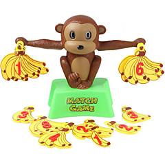 Bildungsspielsachen Spielzeuge Spielzeuge Banane Affe Unisex Stücke