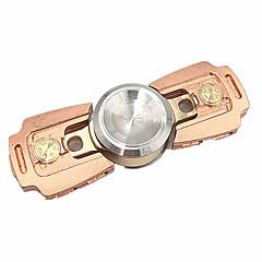 Fidget spinners Hilandero de mano Juguetes Dos hilanderos Metal EDCAlivia ADD, ADHD, Ansiedad, Autismo Por matar el tiempo Juguete del