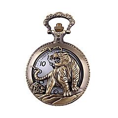 Herre Lommeure Quartz Legering Bånd Bronze
