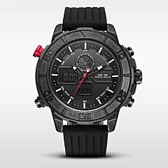 Heren Sporthorloge Militair horloge Japans Digitaal Japanse quartz Alarm Kalender Waterbestendig LED LCD Dubbele tijdzones Stopwatch