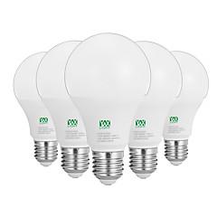 preiswerte LED-Birnen-YWXLIGHT® 5 Stück 12W 1100-1200lm E26 / E27 LED Kugelbirnen 24 LED-Perlen SMD 2835 Dekorativ Warmes Weiß Weiß 100-240V