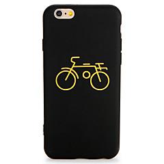 Недорогие Кейсы для iPhone 7-Для яблока iphone 7 7 плюс чехол чехол шаблон задняя крышка корпус мультфильм мягкий tpu 6s плюс 6plus 6s 6