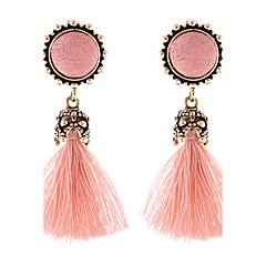 abordables Bijoux pour Femme-Femme Glands Long Boucles d'oreille goutte - Luxe, Gland, Elastique Pointillé rose / Vin Pour Soirée Occasion spéciale Anniversaire