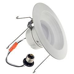 youoklight 1db E26 / E27 13-15w 1200lm ac110-130v 30 * 5730 SMD meleg fehér / hideg fehér LED szabályozható mélysugárzó mennyezeti lámpa