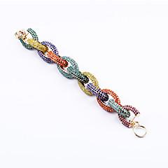 preiswerte Armbänder-Damen Ketten- & Glieder-Armbänder - Modisch Armbänder Schwarz / Regenbogen Für Hochzeit Party Jahrestag