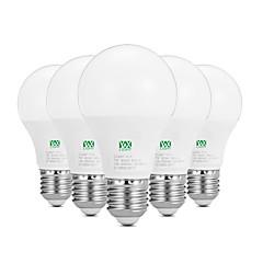 billige LED-lyspærer-YWXLIGHT® 5pcs 7W 600-700lm E26 / E27 LED-globepærer 14 LED perler SMD 2835 Dekorativ Varm hvit Hvit 100-240V