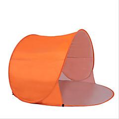 2 사람 텐트 비치 텐트 싱글 캠핑 텐트 원 룸 방수 휴대용 방풍 비 방지 통기성 압축 용 캠핑 & 하이킹 피싱 바닷가 여행 야외 실내 1000-1500 mm 스테인레스 스틸 메쉬-150*150*90 CM