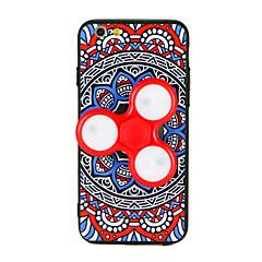 Til Etuier Håndspinnere Mønster GDS Bagcover Etui Mandala-mønster 3D-tegneseriefigur Hårdt TPU for AppleiPhone 7 Plus iPhone 7 iPhone 6s