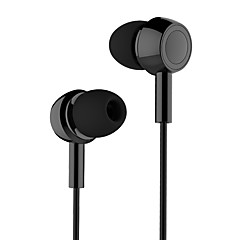 Usams ep-12 hifi i-ear plastbelagte små headset med mikrofon og wire funktion dj scene monitor