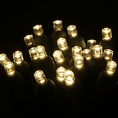 お買い得  LED ストリングライト-GMY® 50 LED 温白色 防水 AC 110〜130V V