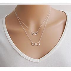 Жен. Ожерелья-бархатки Ожерелья с подвесками Слоистые ожерелья Бижутерия Бижутерия Сплав Базовый дизайн Стразы Природа Дружба Религиозные