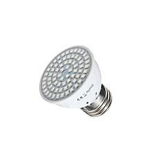3W GU10 GU5.3(MR16) E26/E27 LED Grow Lights MR16 72 leds SMD 2835 Red Blue 400lm 2700-3500K AC110 AC220V