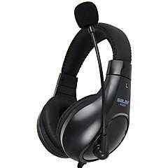Spel hörlurar 3,5 mm spel headset stereo hörlurar med mikrofon buller avbryta skype för pc laptop spelare