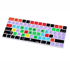 Xskn® lightroom cc shortcut silikon tastatur haut für magic keyboard 2015 version (us / eu layout)