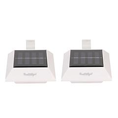 halpa Ulkovalaisimet-youoklight 2 kpl 0.5w 1.2v 0.16a 4 * johti kylmä valkoinen valo aurinkopaneelin valot puutarha valo aurinkovalaisin-valkoinen