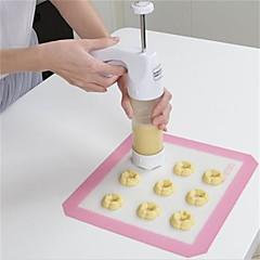 halpa -Bakeware-työkalut Muovi DIY Cookie / Candy paistopinnan 1kpl
