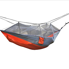 Camping Hammock with Mosquito Net Moistureproof/Moisture Permeability Well-ventilated Waterproof Portable Quick Dry Anti-Insect Foldable