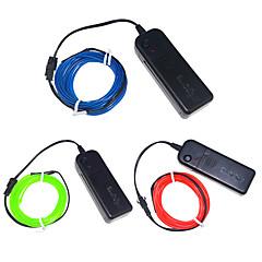 olcso LED szalagfények-3W W LED-es szalagfények 250 lm <5V 3 m led Több színű