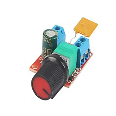 DC 모터 속도 제어 드라이버 보드 3v-35v 5a PWM 컨트롤러 stepless 전압 조정기 led 지시기 및 스위치와 조율기 스위치 빌드