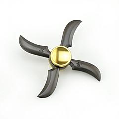 Fidget Spinners Przędzarka ręczna Zabawki Cztery przędzarki Metal Ninja 1 Sztuk Dla chłopców Dla dziewczynek Prezent