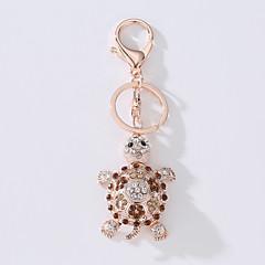 Noul cheie pentru sac de mașină inelul ideea de metal de țestoasă nou setat inel cheia de foraj