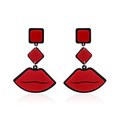 preiswerte Ohrringe-Damen Tropfen-Ohrringe Schmuck Einzigartiges Design Anhänger Stil Klassisch Acryl Multi-Wege Wear Schmuck mit Aussage Afrika Acryl