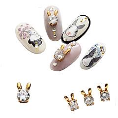 Nail Art dekoráció ékszerek függők