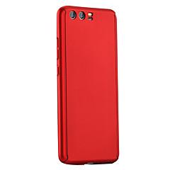 Недорогие Кейсы для Huawei других серий-Кейс для Назначение Huawei P9 Huawei Huawei P9 Plus Матовое Чехол Сплошной цвет Твердый ПК для P10 Plus P10 Huawei P9 Plus Huawei P9