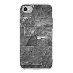 Недорогие Кейсы для iPhone 7 Plus-Кейс для Назначение Apple iPhone 7 Plus iPhone 7 С узором Кейс на заднюю панель Геометрический рисунок Мягкий ТПУ для iPhone 7 Plus