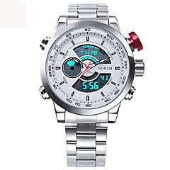 Herre Sportsur Militærur Kjoleur Modeur Armbåndsur Unik Creative Watch Casual Ur Digital Watch Japansk Quartz Digital Japansk Quartz LED