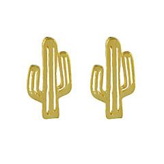 preiswerte Ohrringe-Damen Tropfen-Ohrringe - Grundlegend Gold / Silber / Rose Für Geburtstag