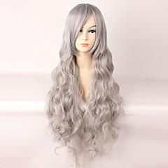 tanie -Peruki Lolita Sweet Lolita Gray Lolita Peruki Lolita 85 CM Peruki Cosplay Peruka Na