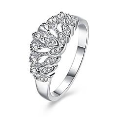preiswerte Ringe-Damen Ring Kubikzirkonia Personalisiert Luxus Geometrisch Kreisförmiges Einzigartiges Design Klassisch Retro Böhmische Grundlegend Herz