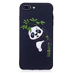 Для iphone 7 плюс 6 плюс 6s se 5s 5 чехол чехол панда рельефная задняя крышка мягкая tpu