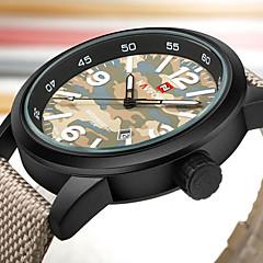 Χαμηλού Κόστους Αθλητικό Ρολόι-Ανδρικά Αθλητικό Ρολόι Στρατιωτικό Ρολόι Μοδάτο Ρολόι Ρολόι Καρπού Καθημερινό Ρολόι Ιαπωνικά Χαλαζίας Ημερολόγιο Μεγάλο καντράν Νάιλον