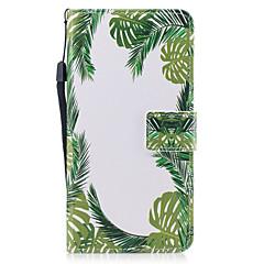 Недорогие Кейсы для iPhone 7 Plus-Кейс для Назначение Apple iPhone 7 Plus iPhone 7 Бумажник для карт Кошелек со стендом Флип Магнитный С узором Чехол дерево Твердый Кожа PU