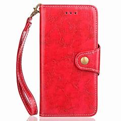 tanie Etui / Pokrowce do Xiaomi-For xiaomi redmi note 4 notatnik 4x portmonetka na wizytówki portfel z paskiem na rękę klapka magnetyczna duża kolorystyka pu skóra dla