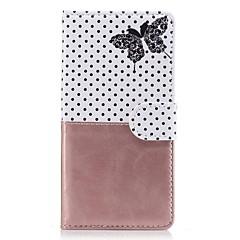 Для sony xperia z5 z3case cover card держатель кошелек с подставкой флип-паттерн полный чехол для тела бабочка твердая кожа pu