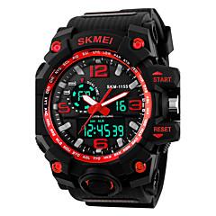 preiswerte Tolle Angebote auf Uhren-SKMEI Herrn digital Digitaluhr Sportuhr Alarm Kalender Silikon Band Cool Schwarz