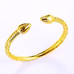 voordelige armband-Dames Heren Cuff armbanden Natuur Vriendschap Modieus Vintage Gothic Koper Cirkelvorm Ronde vorm Sieraden VoorFeest Speciale
