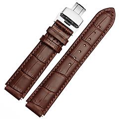 Для часов huawei 18mm / 22mm mstre ремешок для часов ремешок из цельной цветной кожаной бабочки