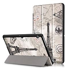 billige Tabletetuier-Etui Til Huawei Fuldt etui Tablet Etuier Hårdt PU Læder for
