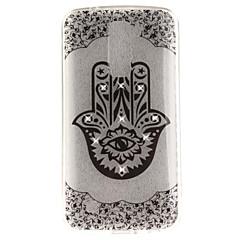 voordelige Hoesjes / covers voor LG-Voor lg k10 k7 hoesje hoesje palm bloem patroon hd geschilderd boor tpu materiaal imd proces hoge penetratie telefoon hoesje k8