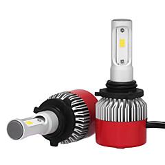 Недорогие Автомобильные фары-9006 Автомобиль Лампы 36W W Интегрированный LED 3600lm lm Светодиодная лампа Налобный фонарь