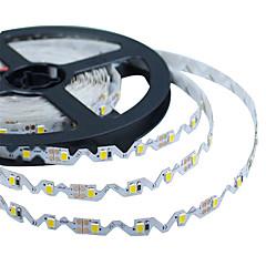halpa Joustavat LED-valonauhat-KWB 5m 300 LEDit 3528 SMD Lämmin valkoinen / Valkoinen 12 V / IP44